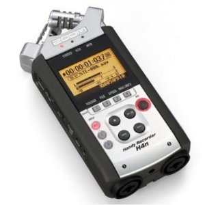 Zoom H4n Portable Digital Audio Recorder