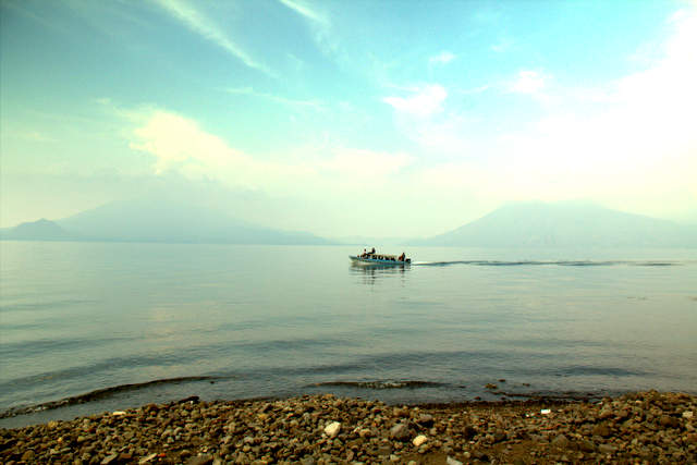 Public Boat | Lake Atitlan, Guatemala