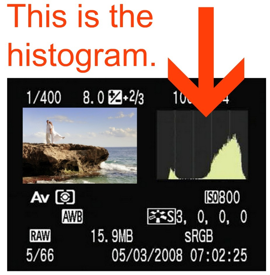 What is a histogram? | This is a histogram.