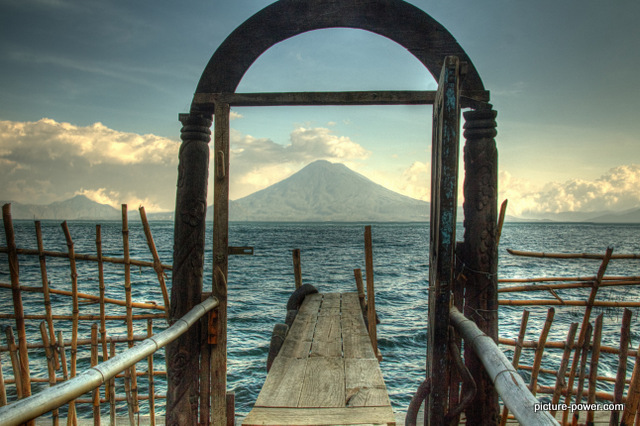 Lake Atitlan Photos | Front Door To Volcano