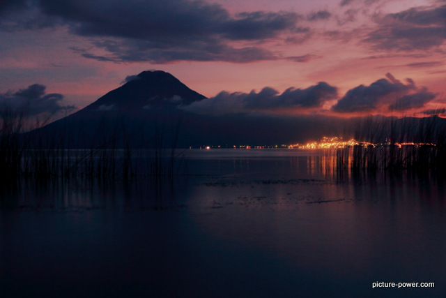 Lake Atitlan Photos | San Pedro Sunset