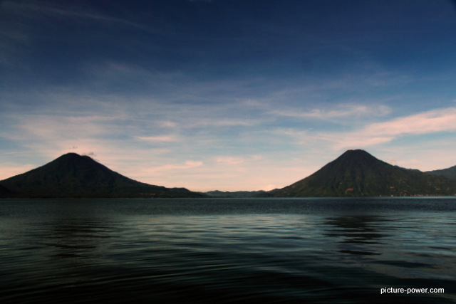 Lake Atitlan Photos | Evening Settles In