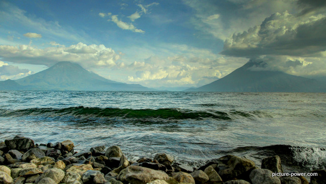Lake Atitlan Photos | Two Volcanoes