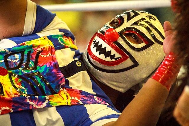 Lucha Libre in San Miguel de Allende, Mexico