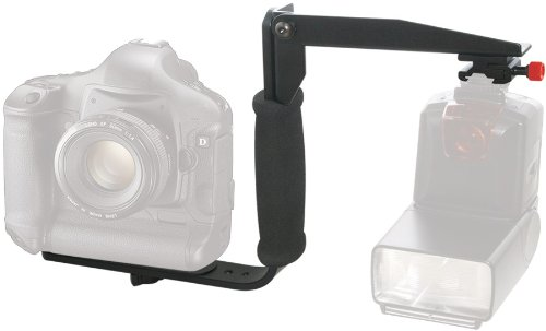 Rotating Flash Bracket Grip and TTL Off Camera Shoe Cord