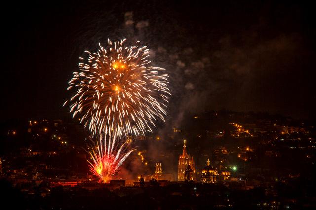 San Miguel de Allende Fireworks
