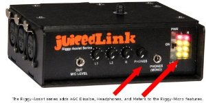 JuicedLink Audio Preamp
