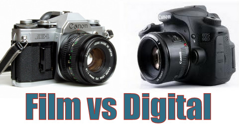 Digital versus Film Photography