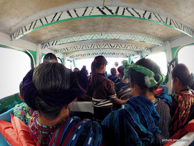 GoPro Hero Photography Tips | Guatemala Ladies in Boat