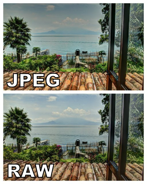 HDR Photography   RAW vs JPEG Comparison