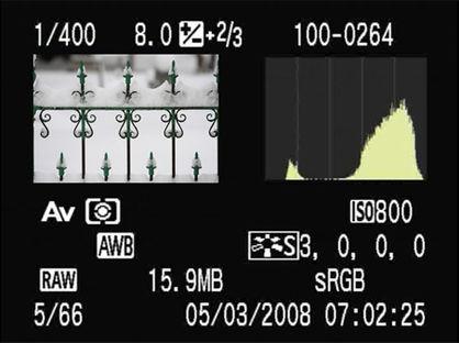 Digital Photography Terms - Overexposure | Histogram
