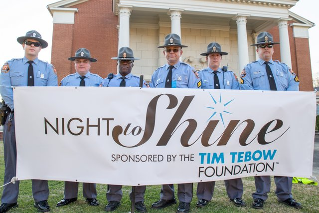 Tim Tebow Foundation's Night to Shine event hosted by First Baptist Church in Americus, Georgia.