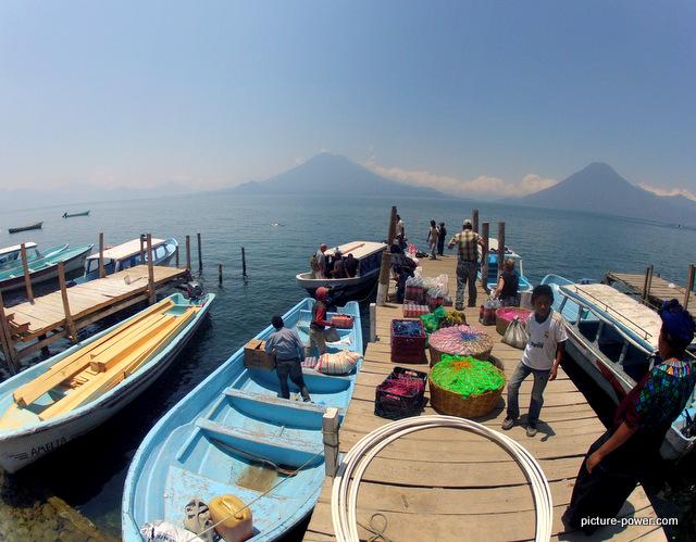Lake Atitlan Photos | GoPro Dock Shot