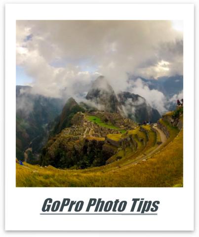 GoPro Photo Tips