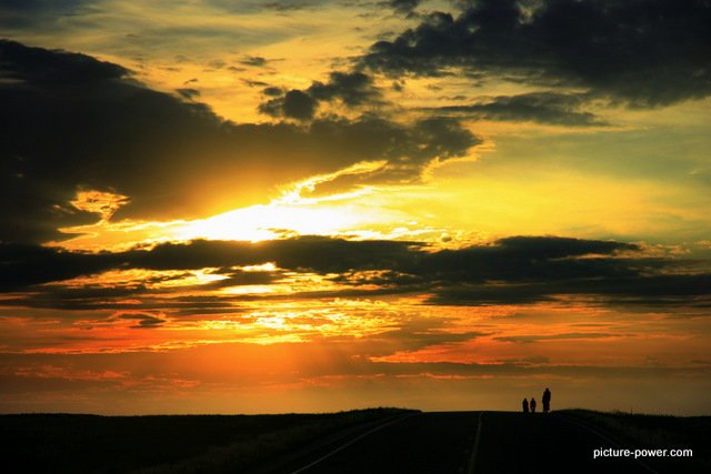 Digital Photography Terms - Overexposure   Overblown Sunset