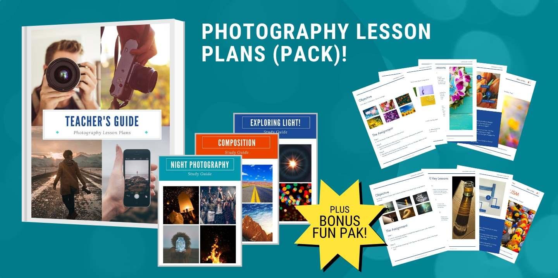Photography Lesson Plans