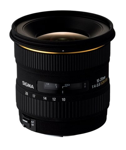 Photography Gear Reviews - Sigma 10-20mm f/4-5.6 EX DC HSM