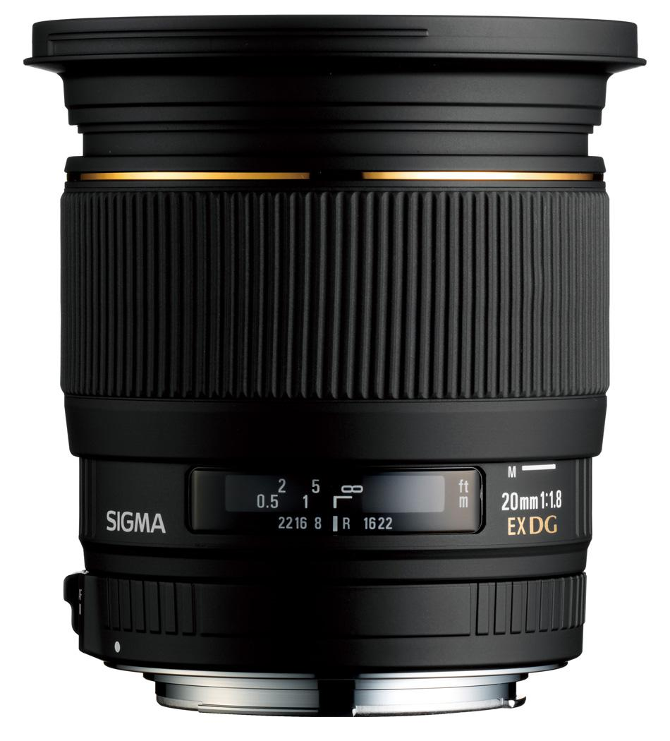 Photography Gear Reviews - Sigma 20mm f/1.8 EX DG