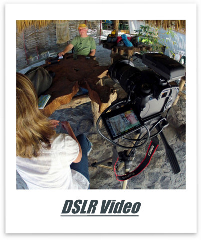 Shooting video with your DLSR.