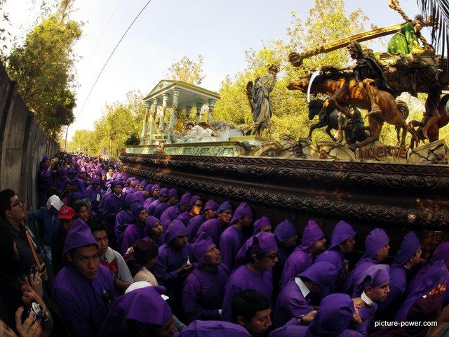 Lent Procession
