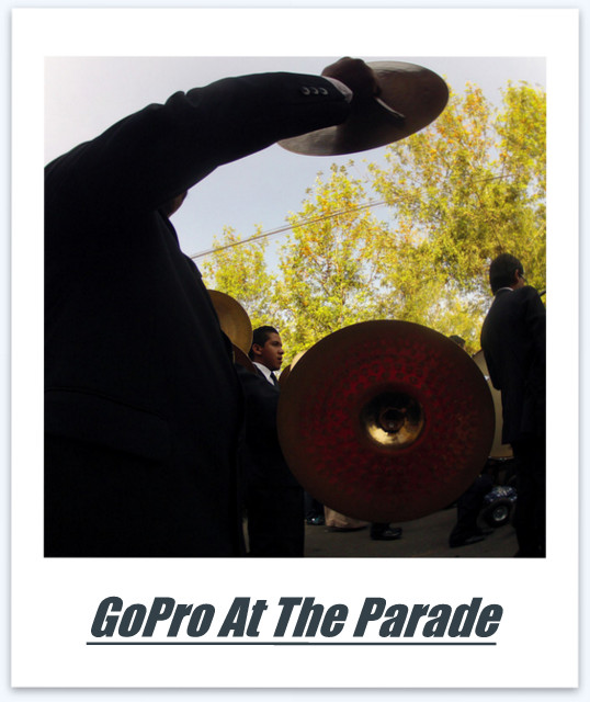 GoPro at the Parade